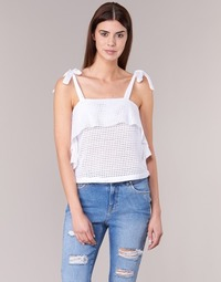 Textiel Dames Tops / Blousjes Moony Mood GEMA Wit