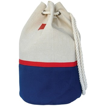 Tassen Dames Handtassen lang hengsel Mora Mora Sac Capcode Marine Blauw