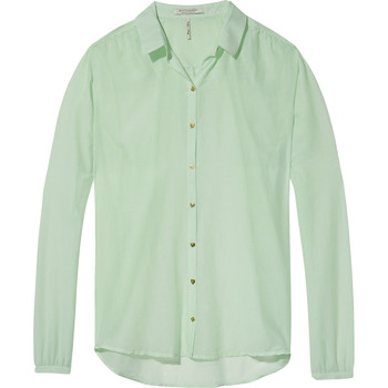 Textiel Dames Tops / Blousjes Maison Scotch Butto Groen