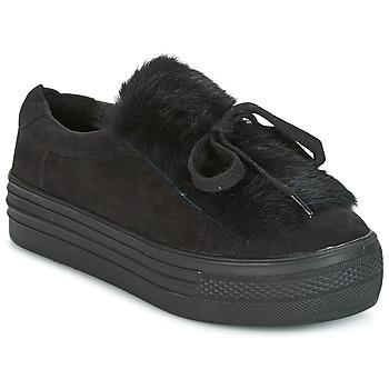 Schoenen Dames Lage sneakers Coolway PLUTON Zwart