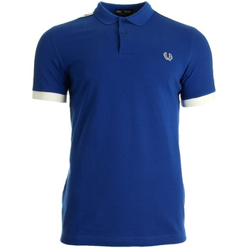 Textiel Heren T-shirts & Polo's Fred Perry Taped Pique Shirt Regal