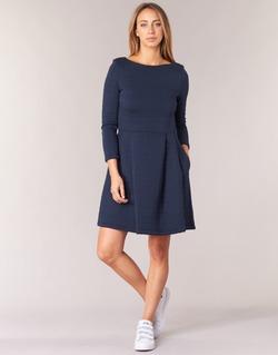 Textiel Dames Korte jurken Petit Bateau LAUREANNA Marine