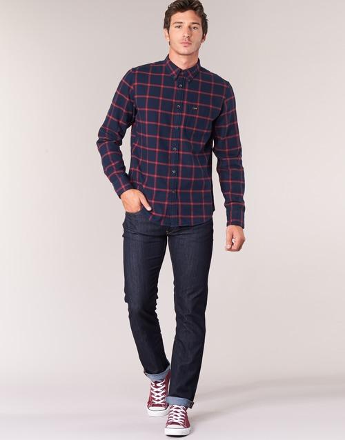 Textiel Heren Straight jeans Lee DAREN Blauw / Brut