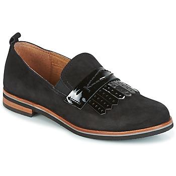 Schoenen Dames Mocassins Caprice CILA Zwart