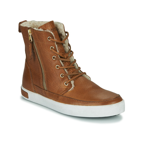 Schoenen Dames Hoge sneakers Blackstone CW96 Bruin