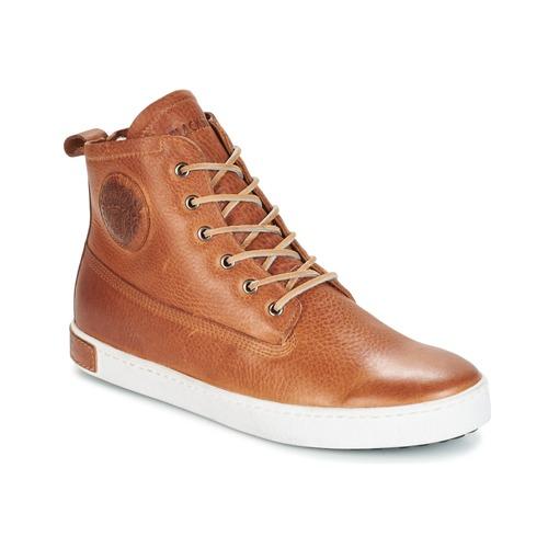 Schoenen Heren Hoge sneakers Blackstone GM06 Bruin