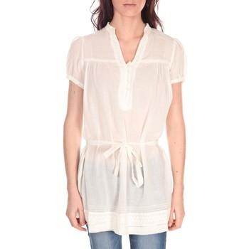 Textiel Dames Tops / Blousjes Vision De Reve Tunique Claire 7090 Ecrue Beige