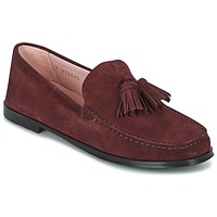 Schoenen Dames Mocassins Pretty Ballerinas CROSTINA RIOJA Bordeau
