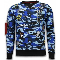 Textiel Heren Sweaters / Sweatshirts Local Fanatic Exclusief Camo Embroidery - Sweater Patches 19