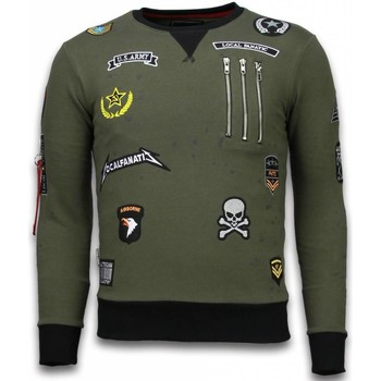 Textiel Heren Sweaters / Sweatshirts Local Fanatic Embroidery Patches Groen