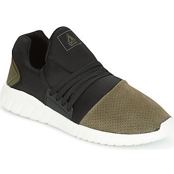 Schoenen Heren Lage sneakers Asfvlt AREA LOW Zwart / Kaki