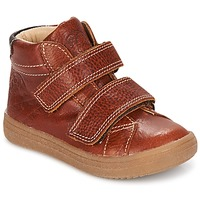 Schoenen Jongens Hoge sneakers GBB NAZAIRE Vte / Fauve / Dpf / 2835