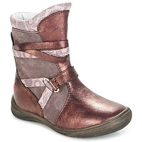 Schoenen Meisjes Laarzen GBB ROSANA Roze / Bordeau