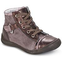 Schoenen Meisjes Laarzen GBB ROMIE Roze / Bordeau
