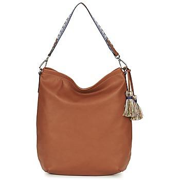Tassen Dames Handtassen lang hengsel Esprit TATE HOBO Bruin