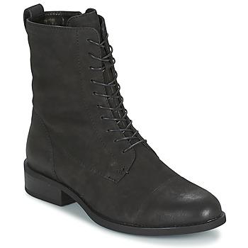 Schoenen Dames Laarzen Vagabond CARY Zwart