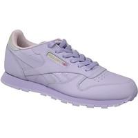 Schoenen Kinderen Sneakers Reebok Sport Classic Leather Violet