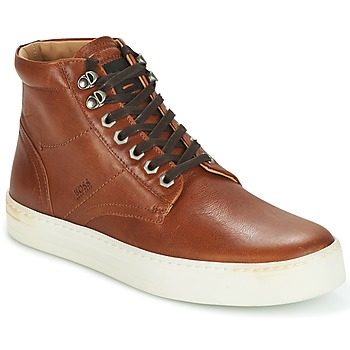 Schoenen Heren Hoge sneakers Hugo Boss Orange NOIR HALB LTWS Cognac