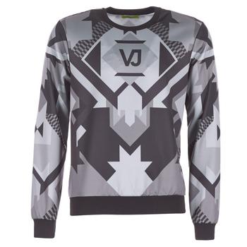 Textiel Heren Sweaters / Sweatshirts Versace Jeans B7GQA7F5 Zwart / Grijs