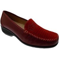 Schoenen Dames Mocassins Calzaturificio Loren LOK3971ro rosso