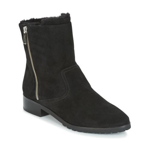 fb4a3f840b0 Schoenen Dames Laarzen MICHAEL Michael Kors ANDI FLAT BOOTIE Zwart