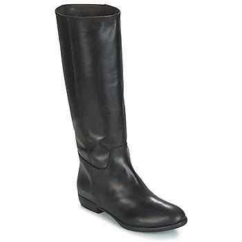 Schoenen Dames Hoge laarzen Jonak CAVILA Zwart