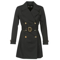 Textiel Dames Trenchcoats MICHAEL Michael Kors PLEATED TRENCH Zwart