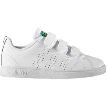 Schoenen Kinderen Lage sneakers adidas Originals VS Advantage Clean Cmf C Wit