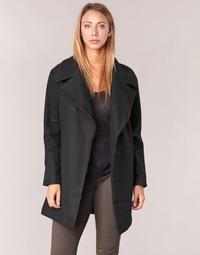 Textiel Dames Mantel jassen Kaporal BANJO Zwart