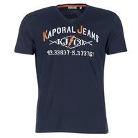 Textiel Heren T-shirts korte mouwen Kaporal MAKAO Marine