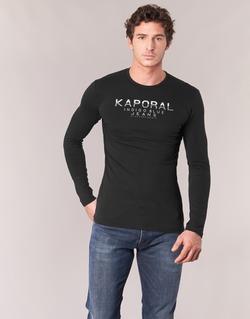 Textiel Heren T-shirts met lange mouwen Kaporal PONIO Zwart