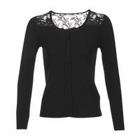 Textiel Dames Vesten / Cardigans Naf Naf MOBRANDY Zwart