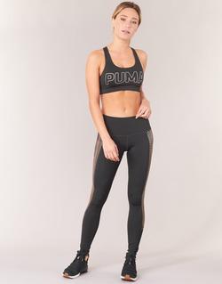 Textiel Dames Leggings Puma EVERYDAY TRAIN GRAPHIC TIGHT Zwart