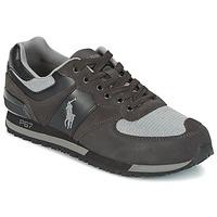 Schoenen Heren Lage sneakers Ralph Lauren SLATON PONY Zwart / Grijs