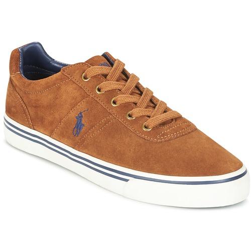 Schoenen Heren Lage sneakers Polo Ralph Lauren HANFORD Cognac