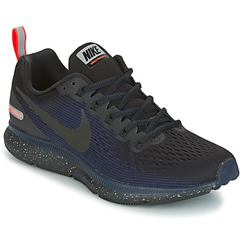 Schoenen Dames Running / trail Nike AIR ZOOM PEGASUS 34 SHIELD Zwart / Blauw