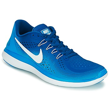 Schoenen Heren Running / trail Nike FLEX 2017 RUN Blauw