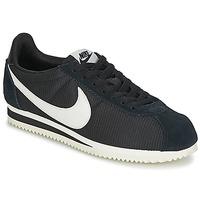 Schoenen Dames Lage sneakers Nike CLASSIC CORTEZ NYLON W Zwart / Wit