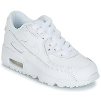 Schoenen Jongens Lage sneakers Nike AIR MAX 90 LEATHER PRE-SCHOOL Wit