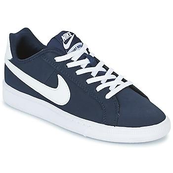 Schoenen Jongens Lage sneakers Nike COURT ROYALE GRADE SCHOOL Blauw / Wit