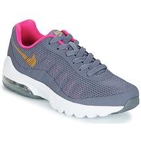 Schoenen Meisjes Lage sneakers Nike AIR MAX INVIGOR GRADE SCHOOL Blauw / Roze