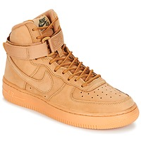 Schoenen Kinderen Hoge sneakers Nike AIR FORCE 1 HIGH WB GRADE SCHOOL Beige