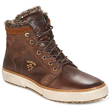 Schoenen Heren Hoge sneakers Pantofola d'Oro BENEVENTO UOMO FUR MID Bruin