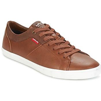Schoenen Heren Lage sneakers Levi's WOODS Bruin