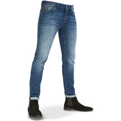 Textiel Heren Straight jeans Vanguard V8 Racer mid blue comfort Denim