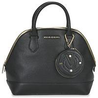 Tassen Dames Handtassen kort hengsel Versace Jeans EPO Zwart