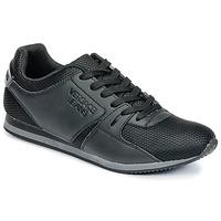 Schoenen Heren Lage sneakers Versace Jeans DEGI Zwart