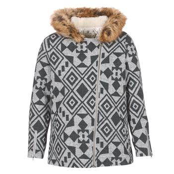 Textiel Dames Mantel jassen Volcom SHOWDOWN JKT Grijs