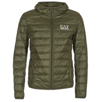 Textiel Heren Dons gevoerde jassen Emporio Armani EA7 TRAIN CORE ID DOWN LIGHT HD Kaki