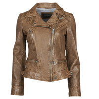 Textiel Dames Leren jas / kunstleren jas Oakwood VIDEO Cognac